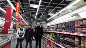 Ein bild im Supermarkt